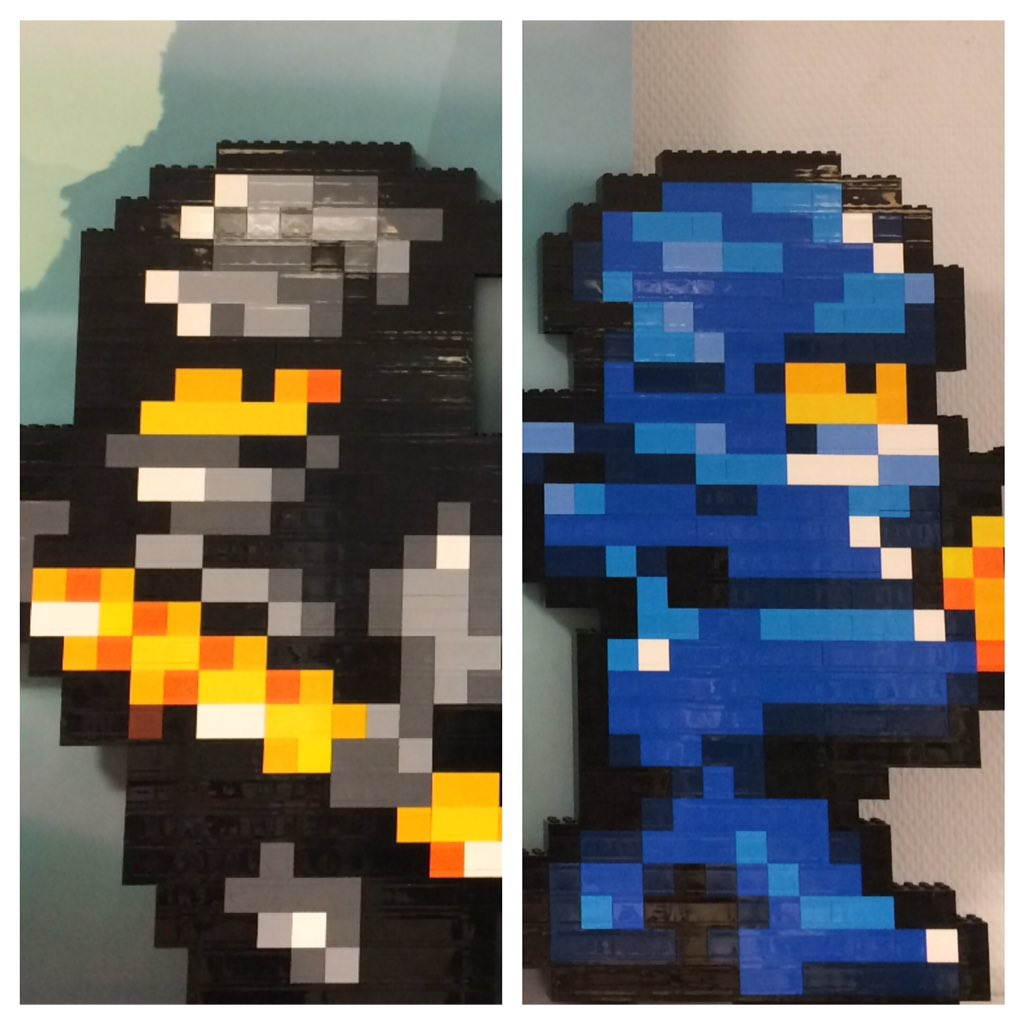 Simon Lucas On Twitter 8 Bit Ninja Built In Lego