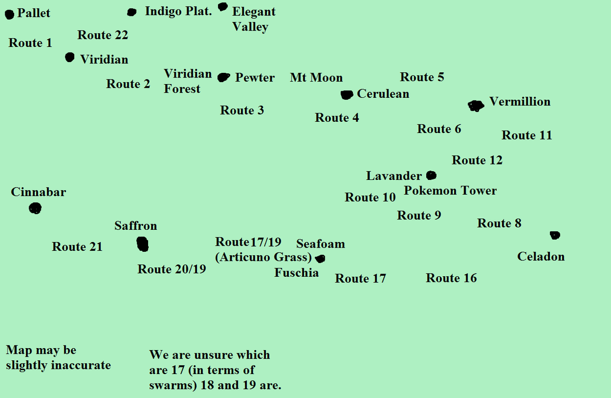 Ollie On Twitter Project Pokemon Map Very Basic May Be