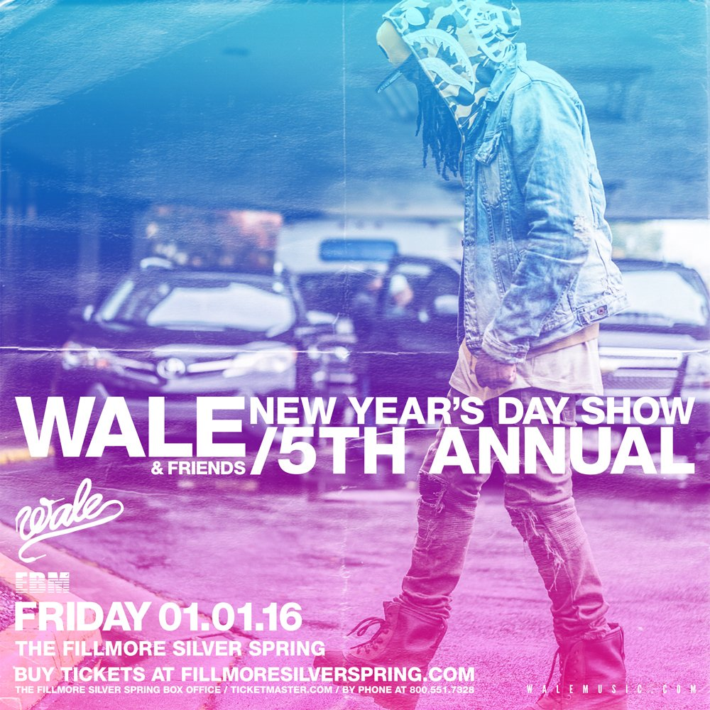 Wale And Friends 5th Annual At The Fillmore