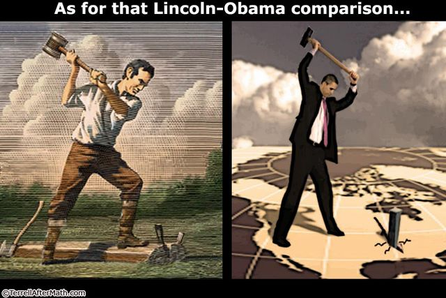 FOR SURE YOU CAN TELL A #LincolnRepublic...