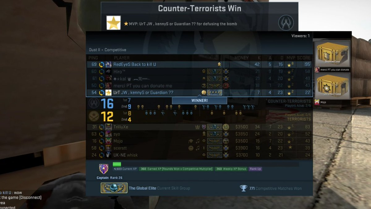 cs go global elite matchmaking dating in thanet kent