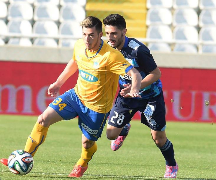 Valmir Nafiu at APOEL