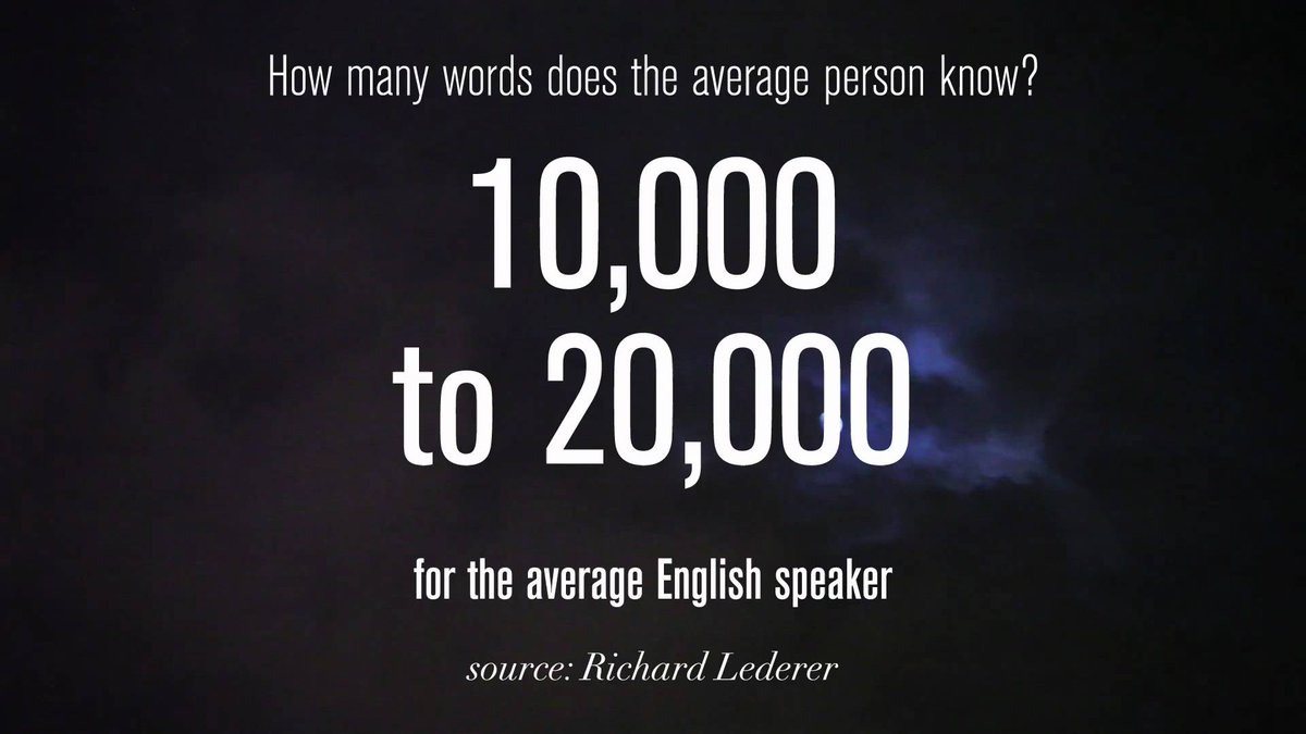 """lingholic.com on Twitter: """"How many words do you need to know to"""