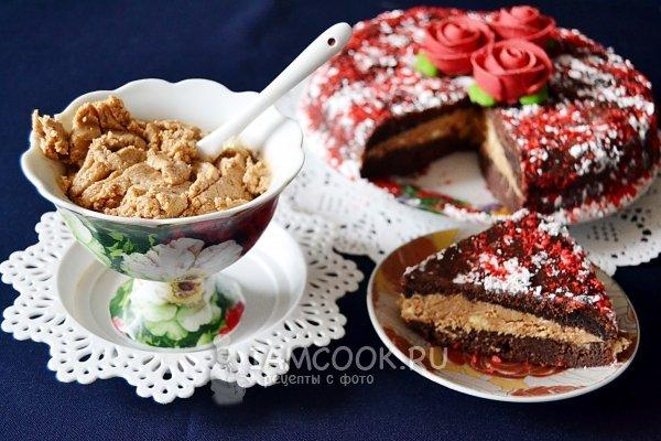 Крем для бисквитного торта со сгущенкой