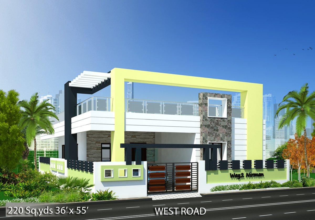 Way2nirman on twitter 220 36 39 x 55 39 sqft for North west house