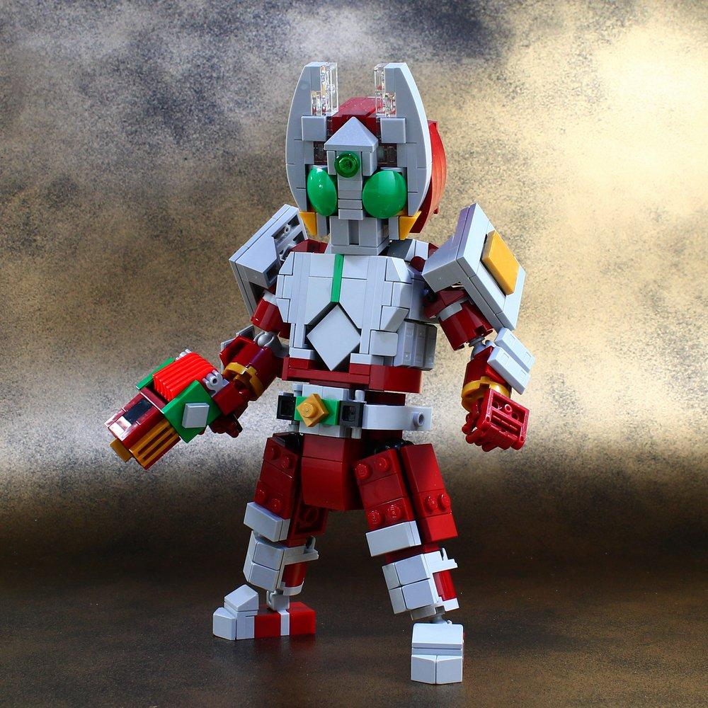 レゴで仮面ライダーギャレンを作ってみました。 : レゴ道 blog.livedoor.jp/legolego05/arc… pic.twitter.com/pOV0Py1jPW