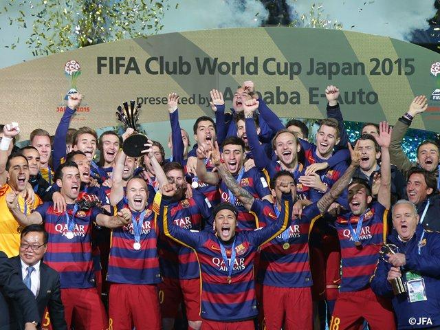 【FIFAクラブワールドカップ ジャパン 2015】1位FCバルセロナ、2位リバープレート、3位サンフレッチェ広島、4位広州恒大、5位クラブ・アメリカ、6位TPマゼンベ、7位オークランド・シティーFC #ClubWC https://t.co/pMZ8ulifSf