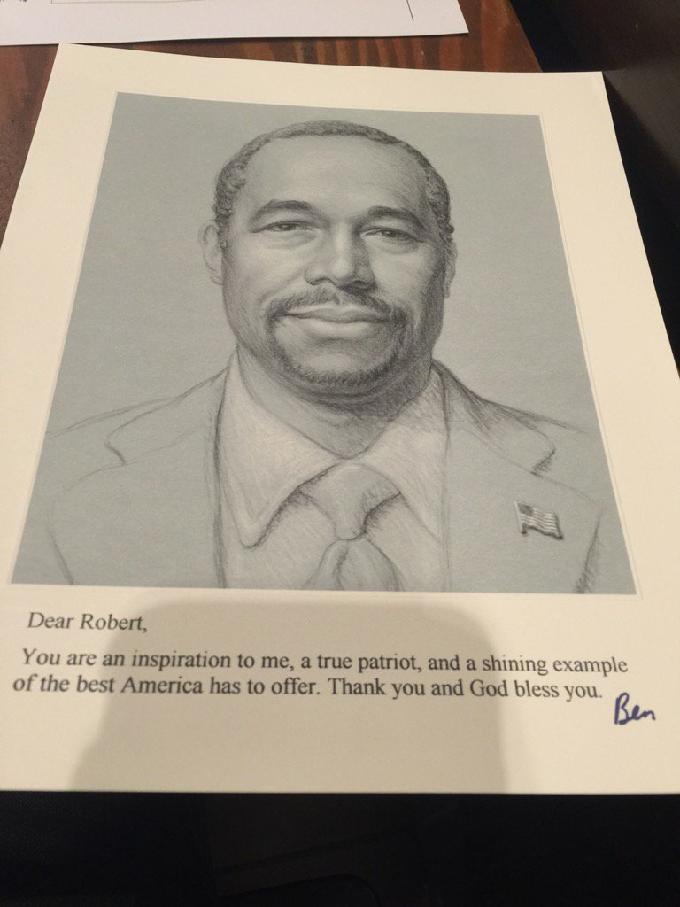 Can't emphasize enough how weird Ben Carson's direct mail is. It is indeed the weirdest. https://t.co/rxHaj9QQ2o