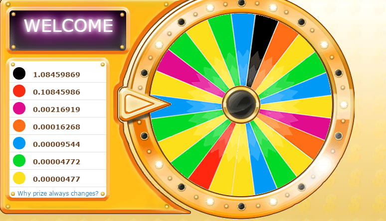 [Testar] Wheel of coin - Ganhe até 1 bitcoin (Pago 0.0005 BTC) CWsECVuWsAA1DVe