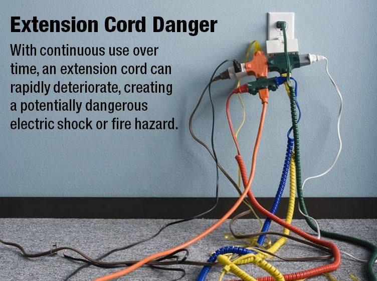 Temporary Wiring Hazards - Circuit Diagram Symbols •