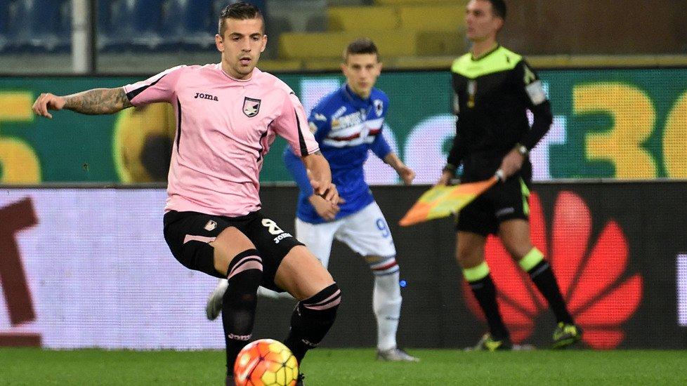 Trajkovski during the game