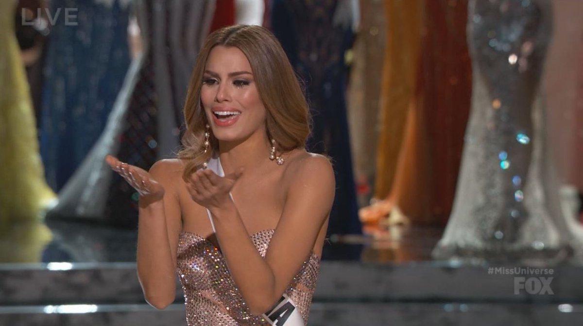 Winner of #MissUniverse2015 is: Miss Columbia! https://t.co/dTTxHYxNht