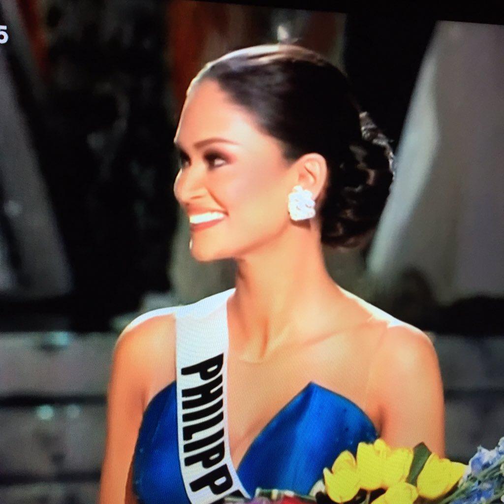 Congratulations!!!! OMG! We won!  That was dramatic!!!! Congratulations. Pia! #MissUniverse2015 #FightPiaPhMU2015 https://t.co/Z8JUNsH0La