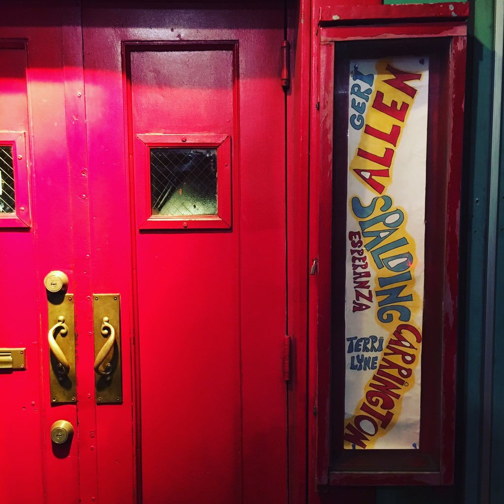 It's been a great week here at the #villagevanguard with @GeriAllenPiano @tlcarrington & @EspeSpalding Last night!