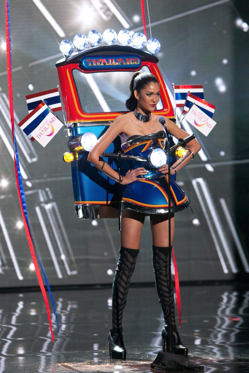 Congratulations to the #MissUniverse National Costume Competition winner, Miss Universe Thailand.