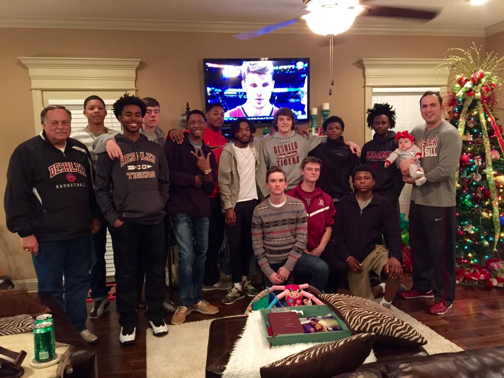 Coach Brian Pounders On Twitter Deshler Basketball Christmas Party