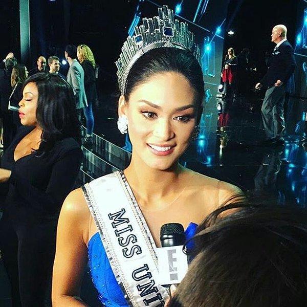 Desde hace 42 años. Filipinas no ganaba el Miss Universo. ¡Felicitaciones! https://t.co/eV1cmYGqen