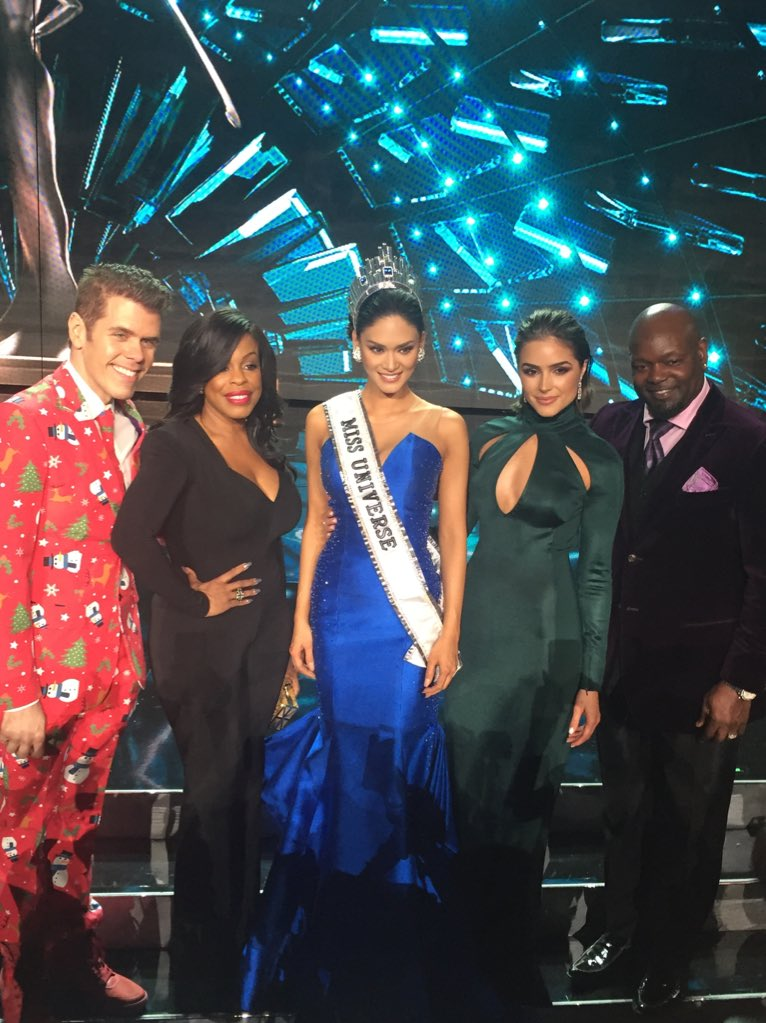 #MissUniverse2015 #MsPhilippines #TheJudges Across the board she had our votes