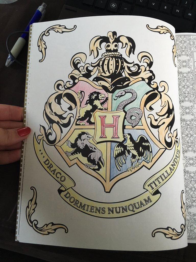 Lena On Twitter My First Finished Picture From Harry Potter
