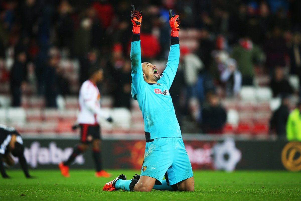 @WatfordFC keeper Heurelho Gomes has kept more clean sheets (8) than any other goalkeeper this season! https://t.co/AwMUWumCqS