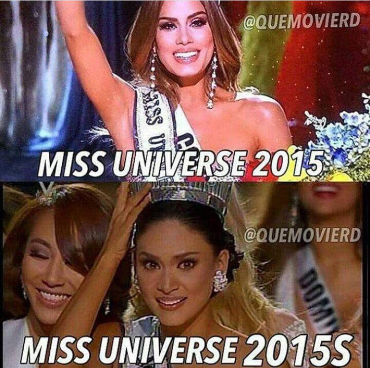 The Funniest Memes of Last Night's Epic Miss Universe Fail