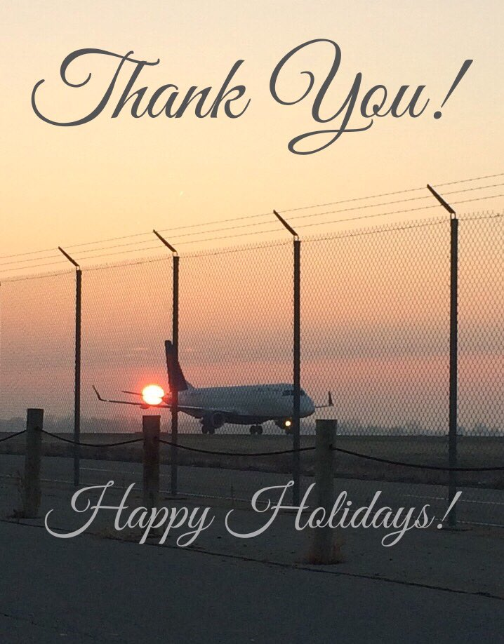 To ATC, pilots, FAs, ground crews & gate agents who are working this week to make happy holidays possible: #avgeek https://t.co/eRQyD91Kb6