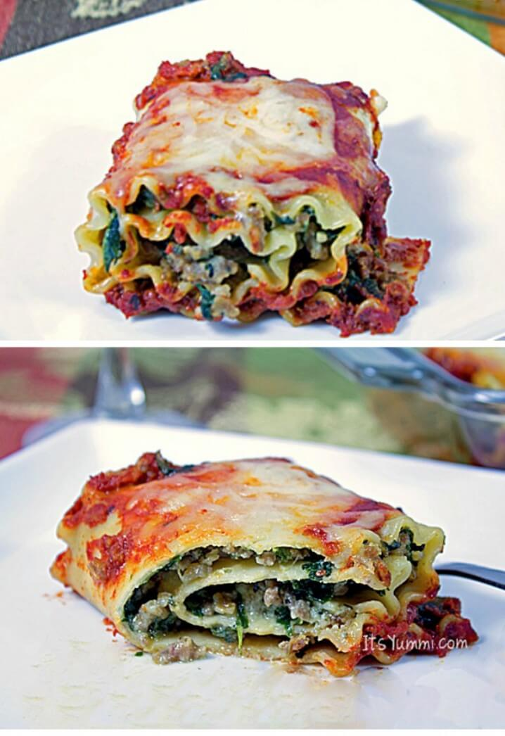 Start a new holiday tradition. Italian for Christmas dinner w/ Sausage Lasagna Roll Ups! https://t.co/teouW6kOGK https://t.co/1o2wUdrxnS