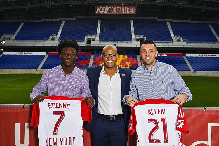 JUST IN:  @NewYorkRedBulls Sign Derrick Etienne, Brandon Allen as Homegrown Players #RBNY https://t.co/YXxuYIlBMY