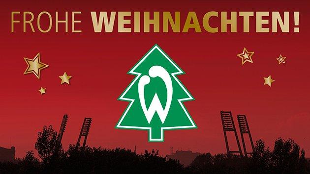 Frohe Weihnachten Werder Bremen.Sv Werder Bremen On Twitter Werder Wunscht Euch Ein