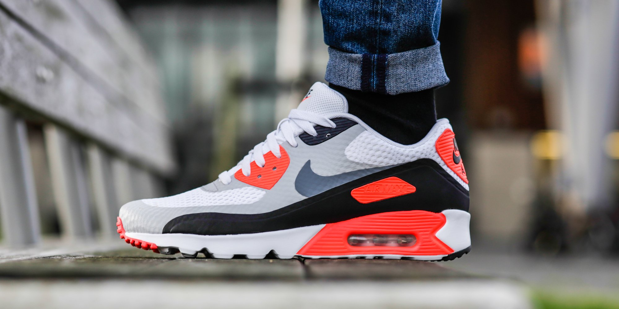 closeout nike air max 90 ultra essential infrared e6c25 01ab0