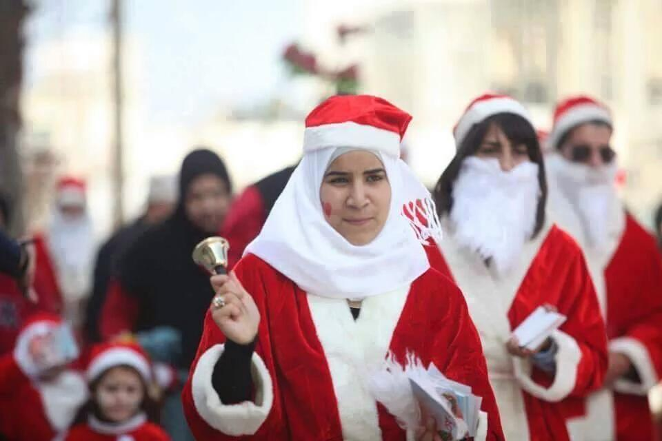 Welcome palestine where people from different religions