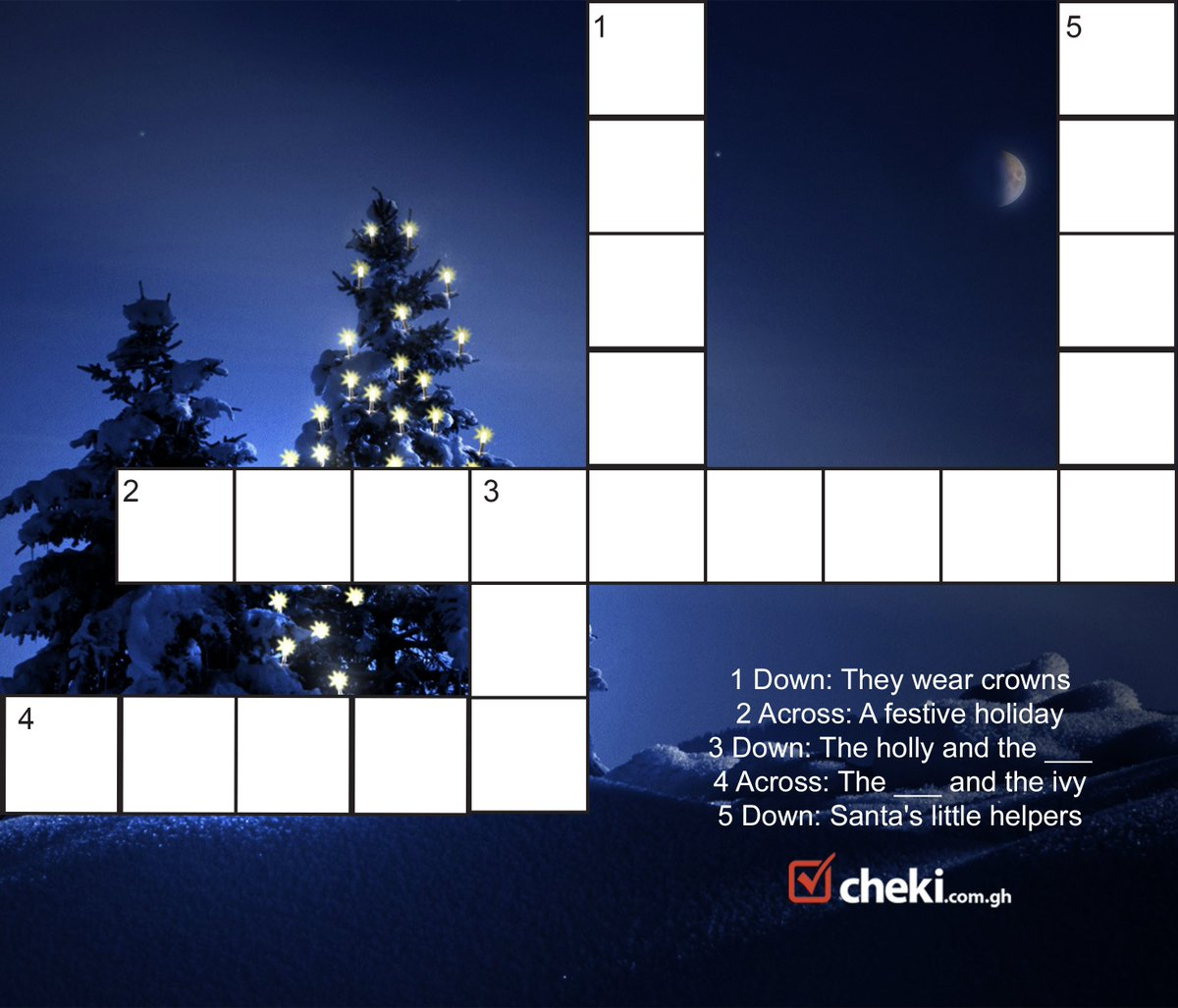 Cheki Ghana On Twitter Can You Find The Words For This Christmas