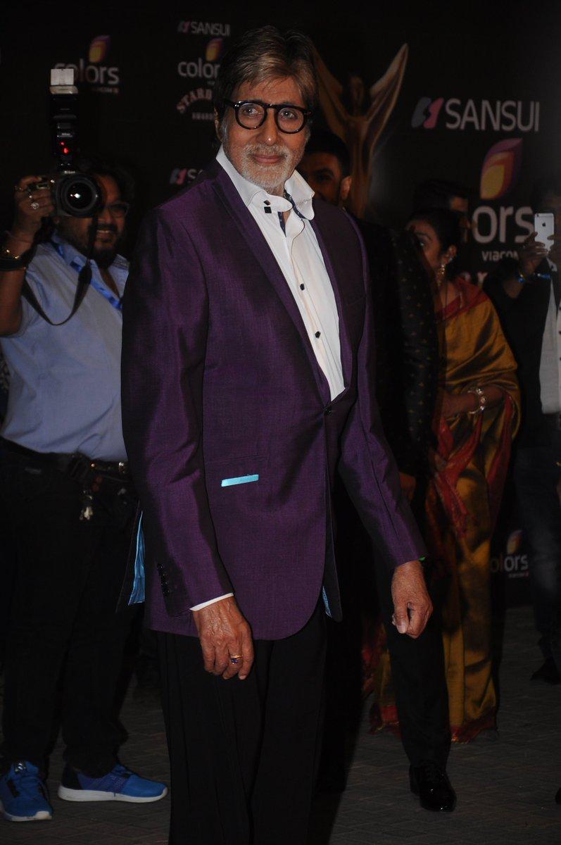 Amitabh Bachchan at #SansuiColorsStardustAwards Image/Picture