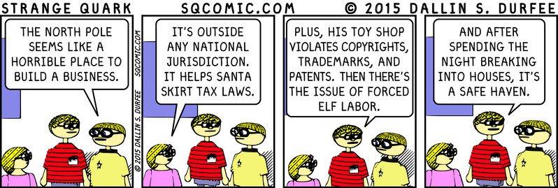 Today's Strange Quark comic - see 356 comics at https://t.co/SSq853FAvh https://t.co/nqTzZa4q3Y