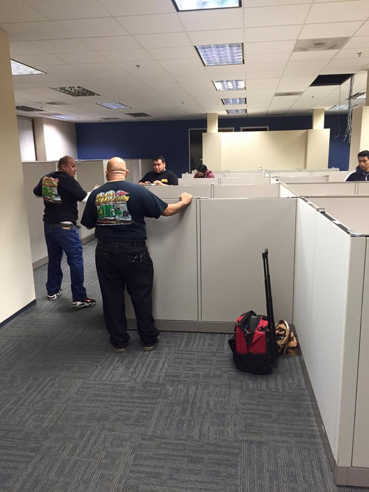 Our Guys Are The Best At De Installing And Re Cubicles Offices Desks Irvine LAFitness Moverspictwitter SGJjiyzsCX