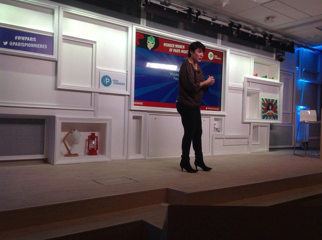 """""""On ne naît pas entrepreneur. On le devient"""" @ParisPionnieres @mumuparis #WWParis https://t.co/010In7pq4X"""