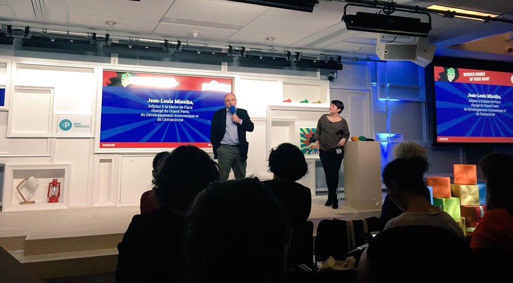 """.@jlmissika : """"Il faut la parité dans la création start-up"""" #WWParis https://t.co/yWBZwulg1D"""