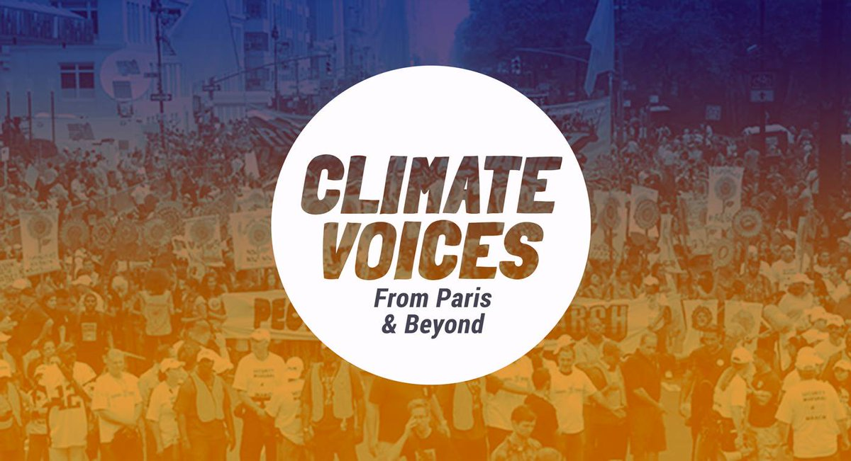 Don't be left out of the news around the historic #ParisAgreement: https://t.co/40MZVvxvTp #COP21 #ClimateVoices https://t.co/NhHmiTZLSN