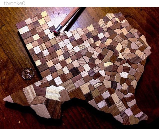 Complete Map Of Texas.Texas Humor On Twitter Wooden Map Of Texas Complete With All 254