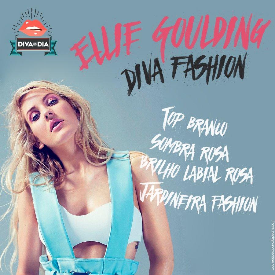 OMG, como ela é linda *-* #HappyBDay p/ a Ellie Goulding <3 Bora se inspirar nesse look lindo? #VemVer https://t.co/p6jQhQ6Xk2