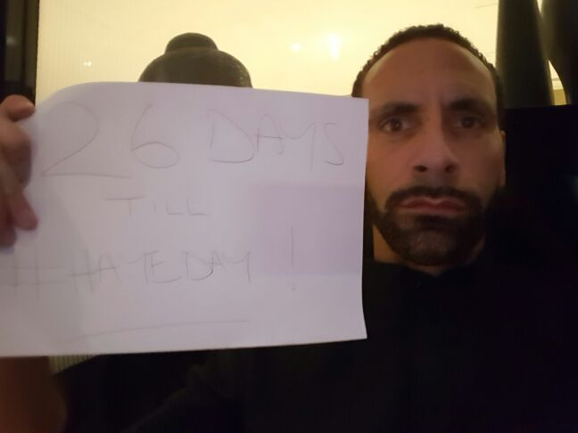 26 days until #Hayeday good luck with it all....I wanna see Haye vs Joshua asap.. .Anyone else??? https://t.co/wlQBK4kGXh