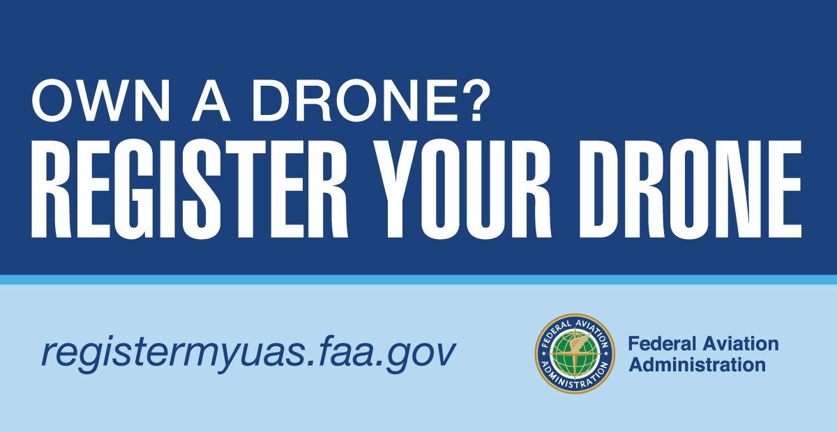 FAA Small Unmanned Aircraft Registration Is Live https://t.co/JvKGIrbjod  #drones #FlySafe