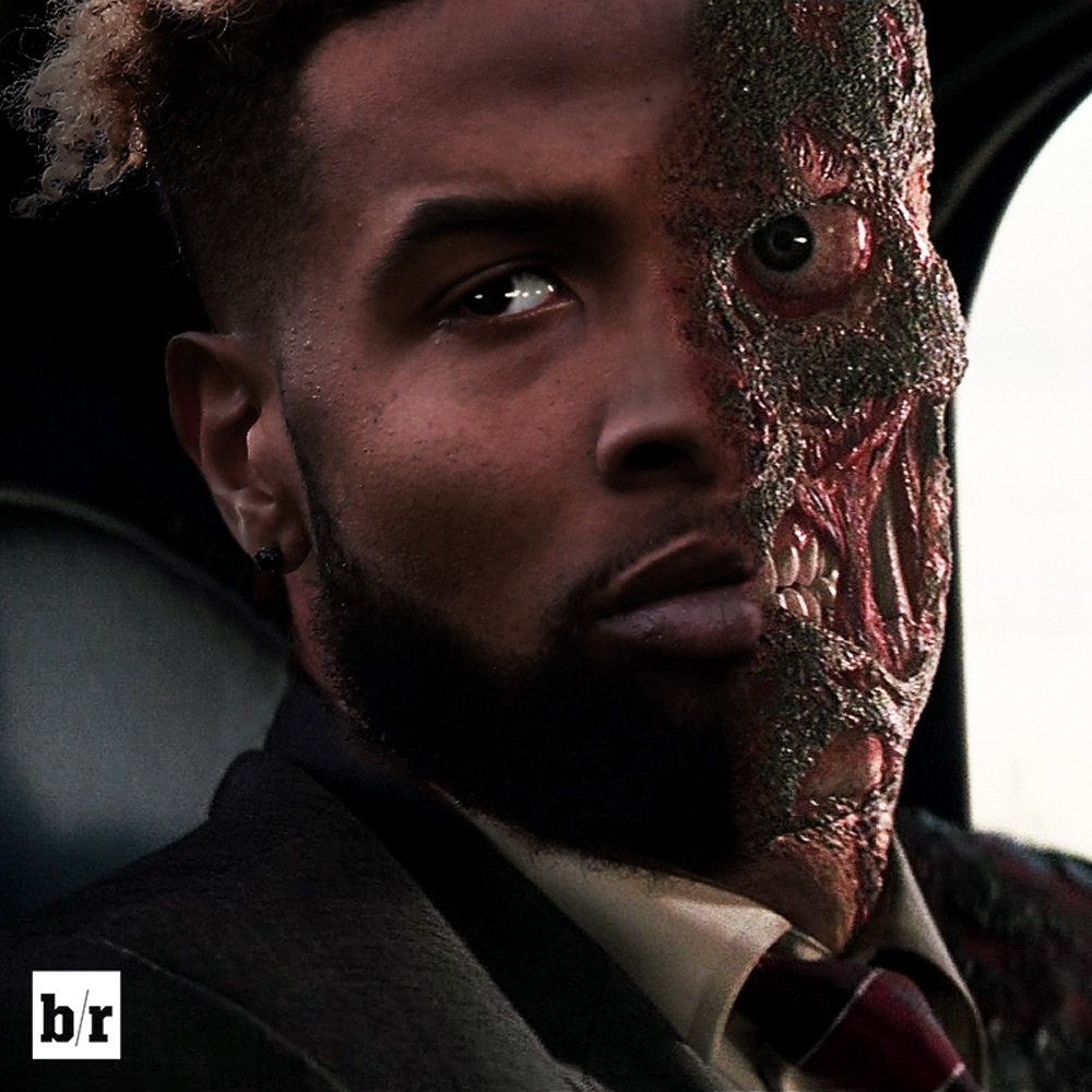 "Josh Norman on Odell Beckham: 'That's no Joker. That's Harvey Dent. That's Two-Face."" (h/t @MikeAndMike)"