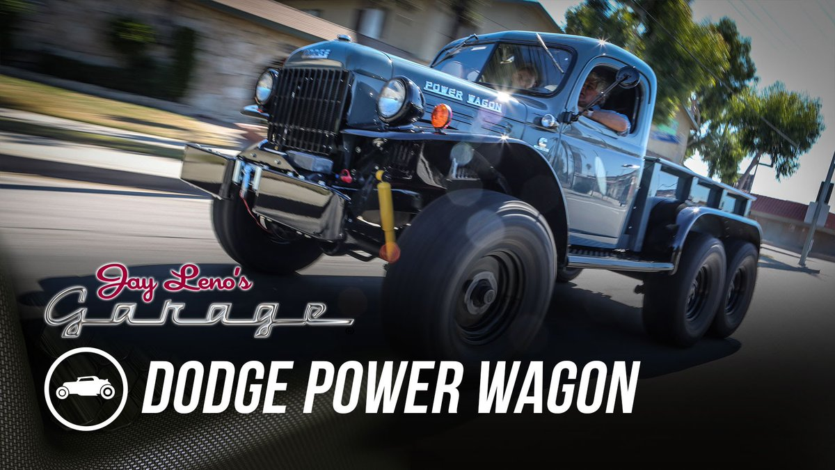 Dodge Power Wagon Latest News Breaking Headlines And Top Stories A Big Ol 6 Wheeled Puts Your Puny Modern Trucks To