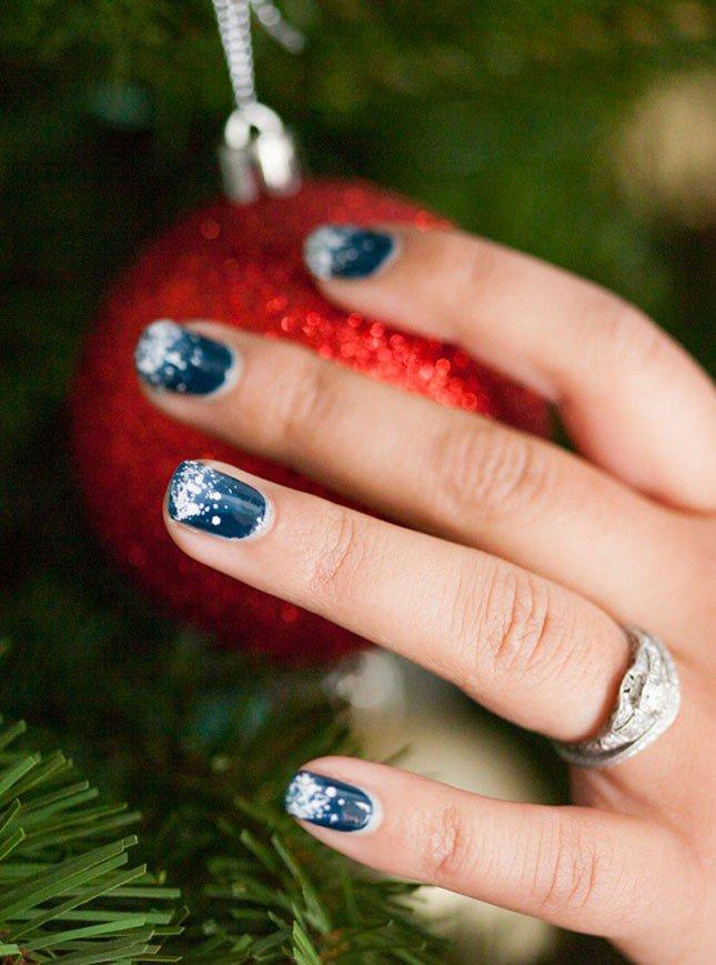 Moda Capital على تويتر Uñas Para Navidad Ideas Uñas