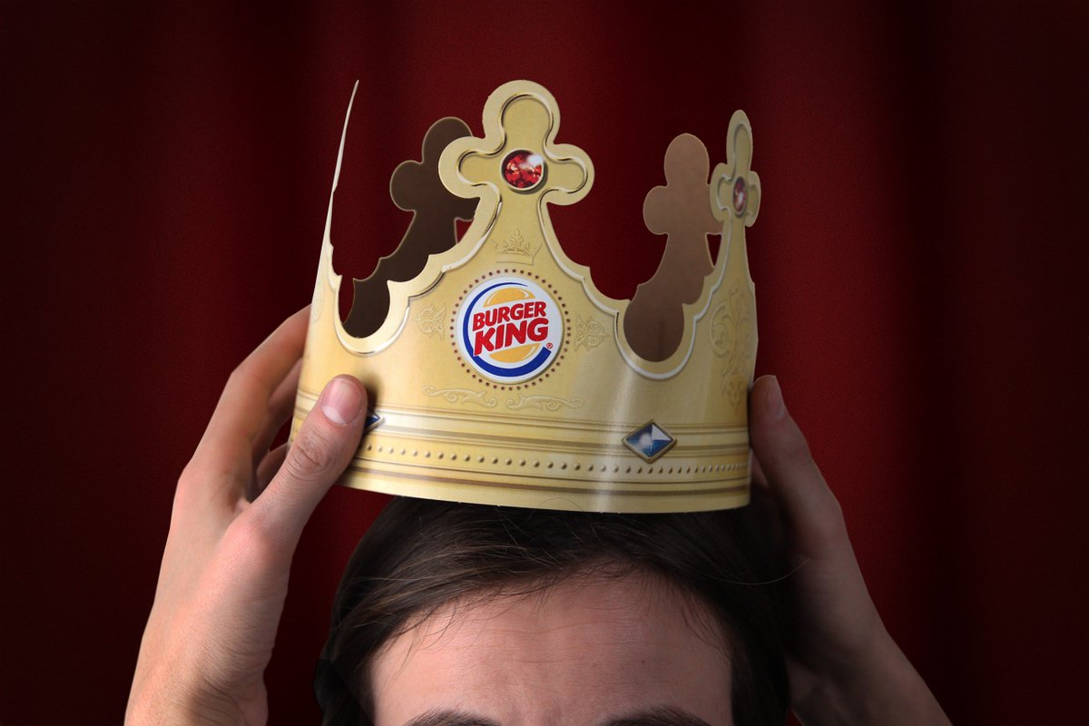 burger king on twitter at bk everyone gets to keep their crown