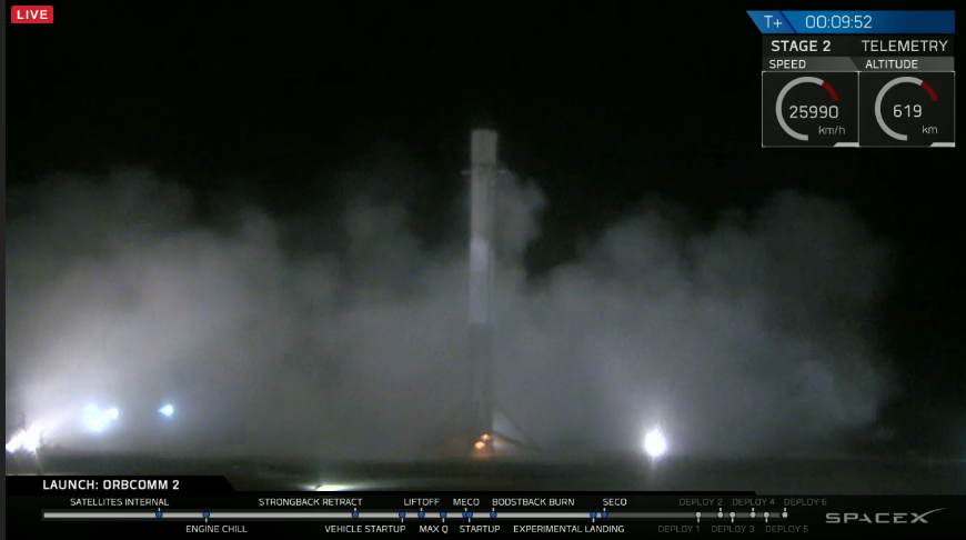 The Falcon has landed!! #SpaceX https://t.co/5LuRObjG2o