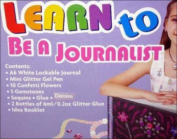 Journalism checklist: 1. Glitter? Check 2. Lockable journal? Check File yarns.... NOW https://t.co/YDkeuAQJKe