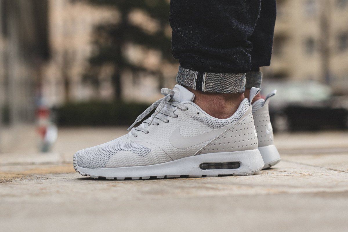 newest collection 53cf9 3b556 Nike Air Max Tavas - Pure Platinum Neutral Grey Available now at Titolo  SHOP HERE http   bit.ly 1OFZmhs pic.twitter.com AQiguG6OYg
