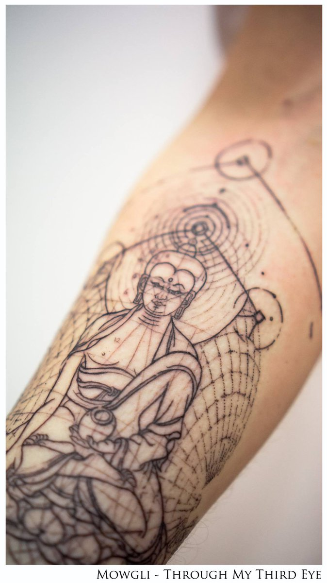 "Third Eye Tattoo: Through My Third Eye On Twitter: ""#buddha #tattoo By"
